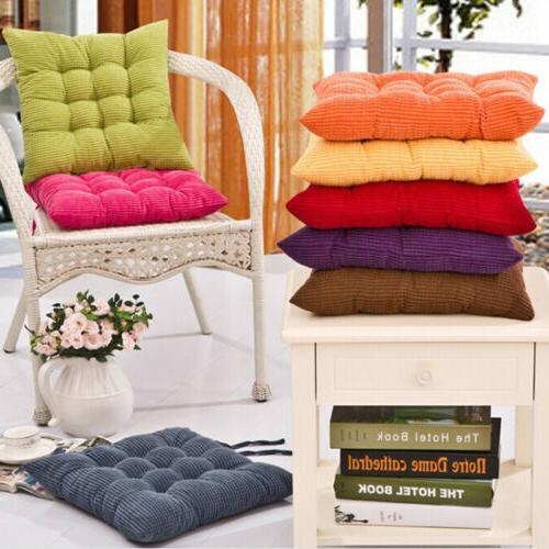 COLOURFUL ROOM GARDEN KITCHEN CUSHIONS WITH TIE BJ