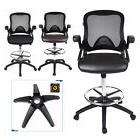 Computer Office Chair Air Grid Back Leather Cushion Seat Tal