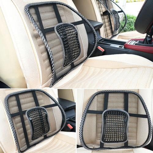 Car Cool Vent Cushion Mesh Back Lumbar Support Office Home C