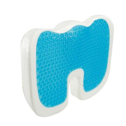 Extra Seat Cushion Coccyx Memory Gel Pain