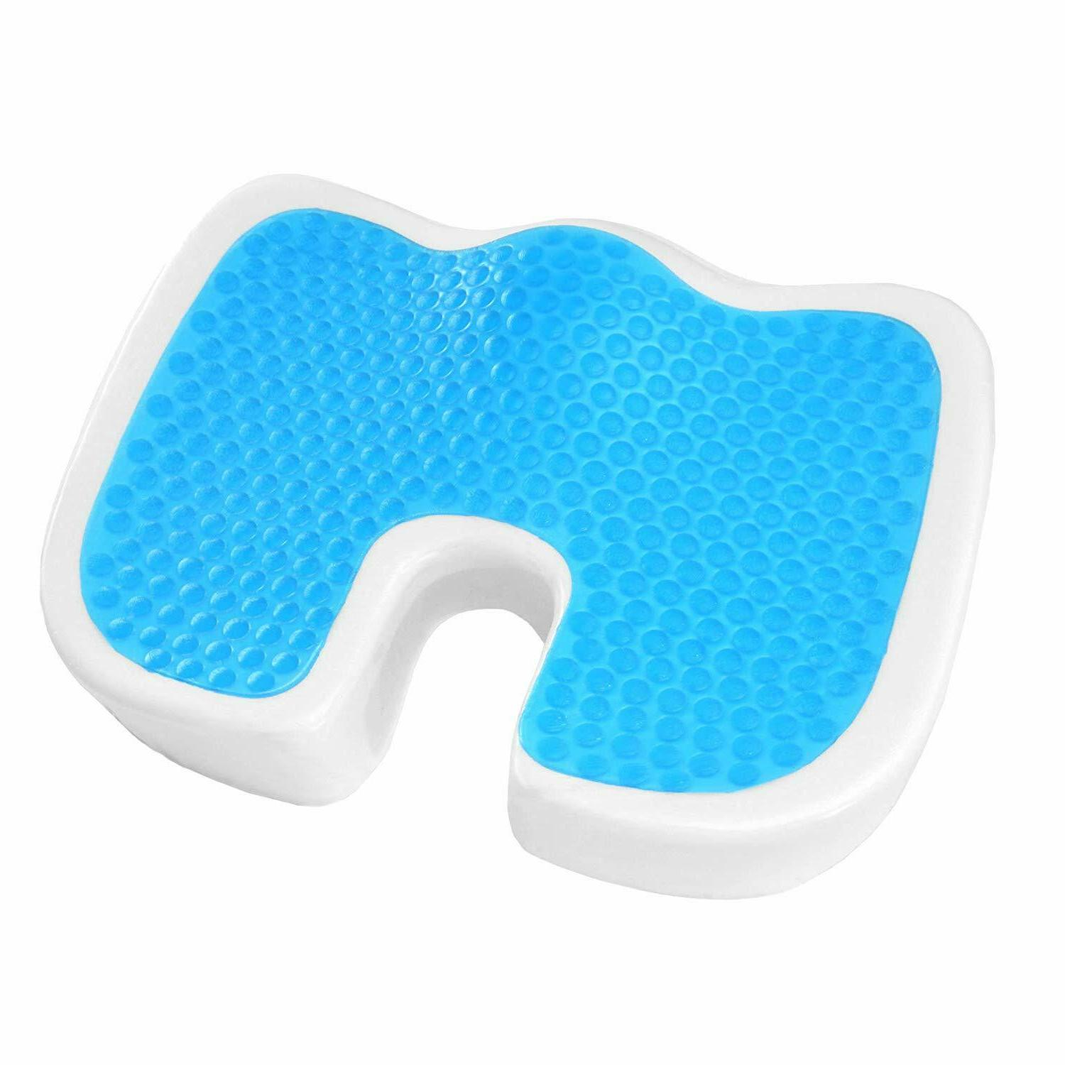Plixio Seat Cushion Memory Car Orthopedic