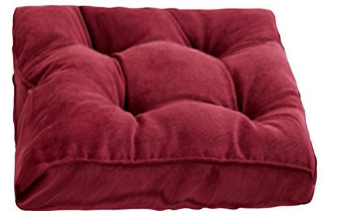corduroy thicken padded chair pad
