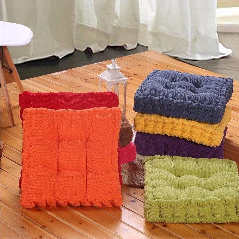 VOZRO Tatami Office Outdoor <font><b>Cushions</b></font> Textile Knee Pillow Almofada