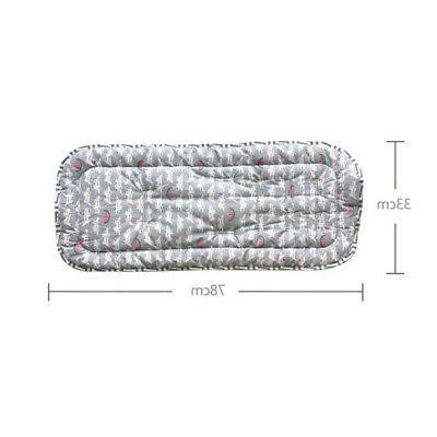 Cotton Liner Stroller Seat Mat Cushion Pad