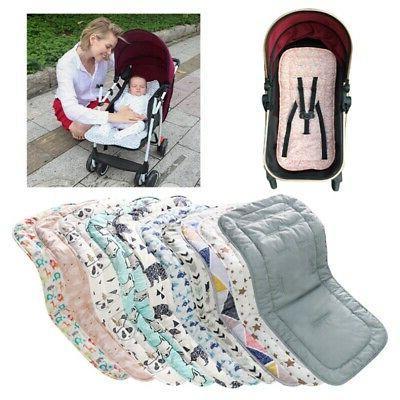 cotton baby seat liner stroller seat mat