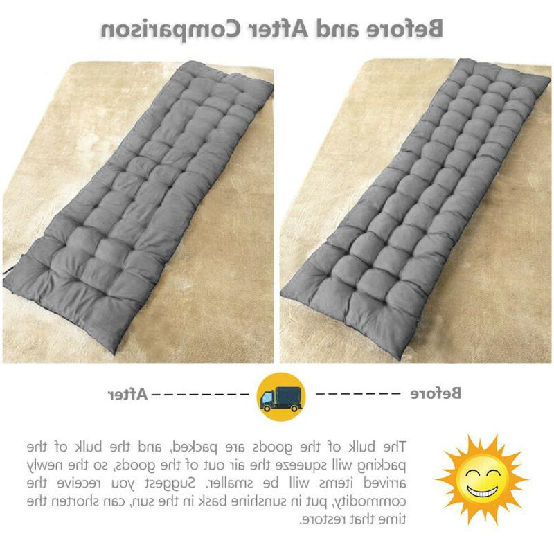 Cotton Replacement Cushion Sun Lounger
