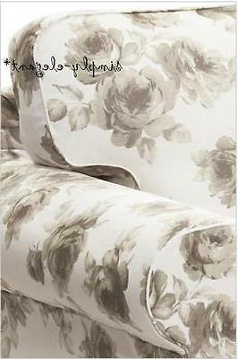 IKEA Cover for Sofa seat Sofa Slipcover, White Floral NEW