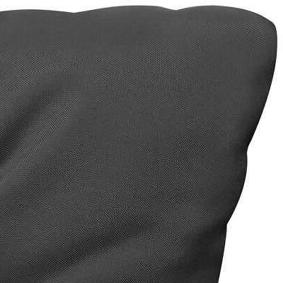 vidaXL Chair Anthracite Seat Backing Pillow