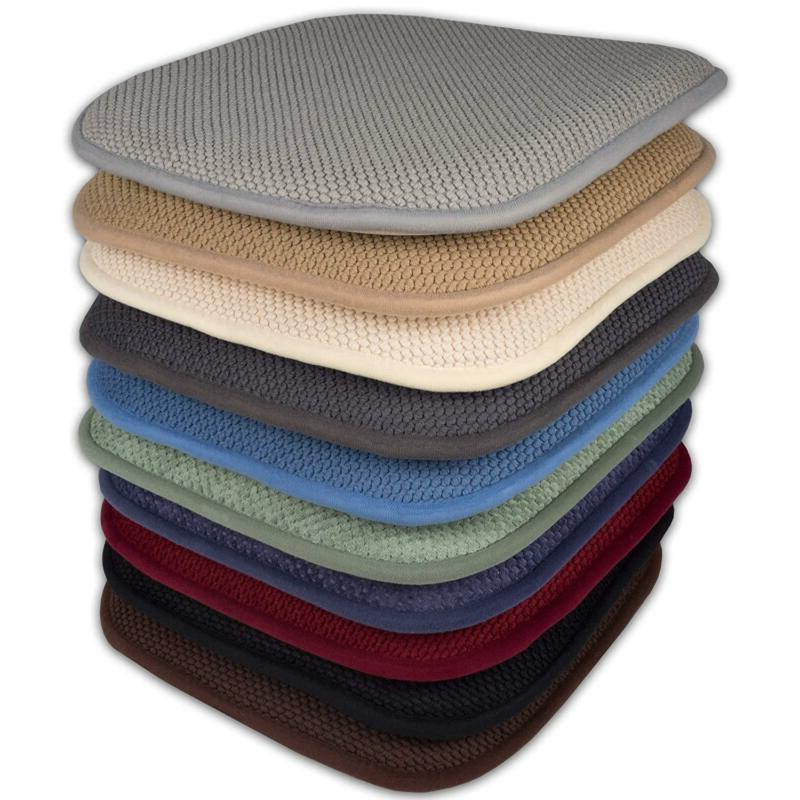 4 Pack Memory Foam Honeycomb Nonslip