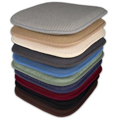 Sweet Collection Memory Foam Pads Honeycomb Back