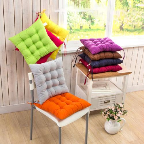 Tie Chair Removable Cushion Indoor Dining Yard