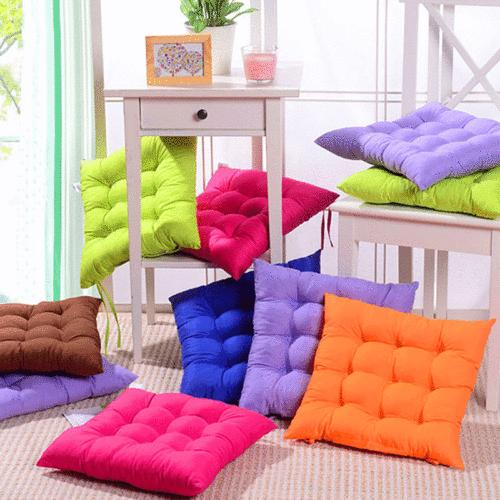 Cushion Seat Pads Indoor Home Kitchen Chair Round/Square