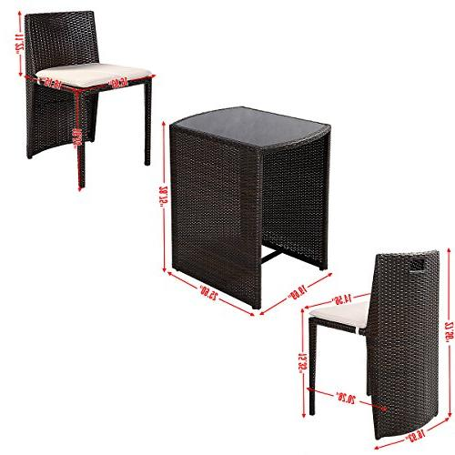 Goplus Cushioned Outdoor Wicker Seat Sofa Furniture