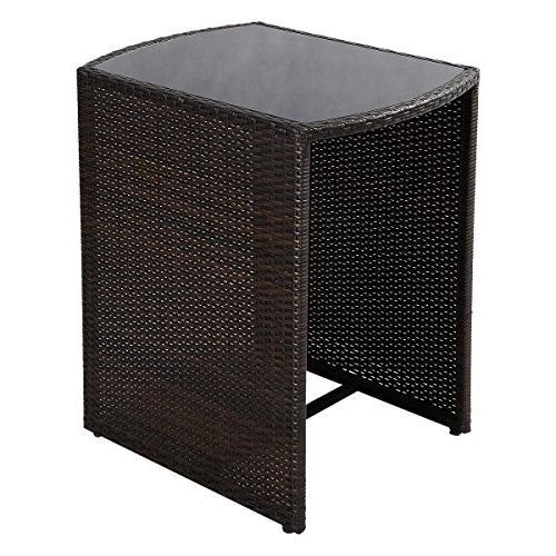 Goplus 3 PCS Outdoor Sofa New