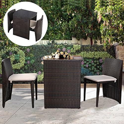 Goplus Outdoor Patio Seat Garden Sofa Furniture New