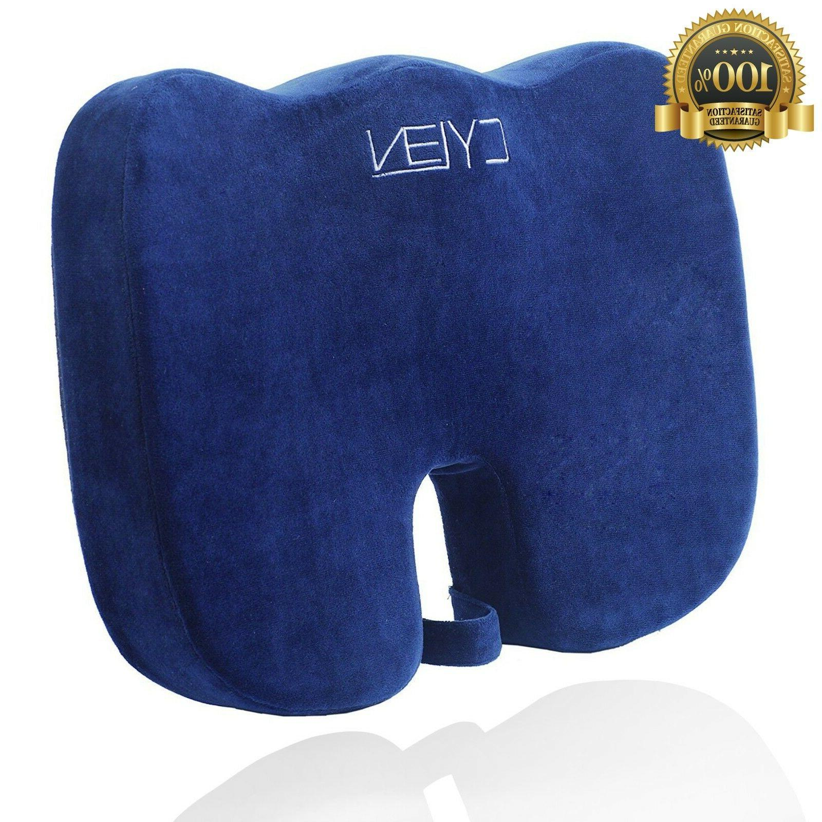 cylen home memory foam bamboo charcoal infused ventilated or