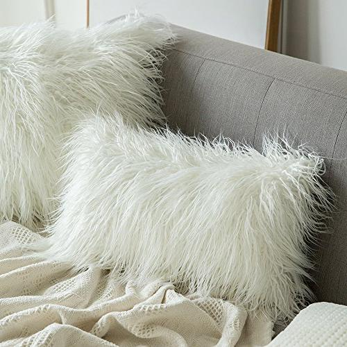 MIULEE Pack of 2 Decorative New Luxury Series Style Throw Pillow Case Cushion Cover for Sofa Bedroom Car 20 Inch 50 cm