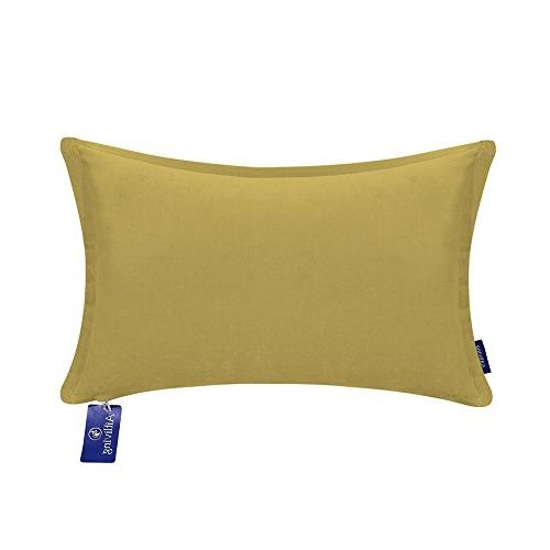 decorative throw pillow cases solid