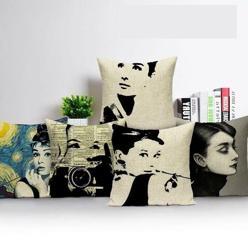 Decorative Throw Pillows Case Sofa Cover Cushions Home Room