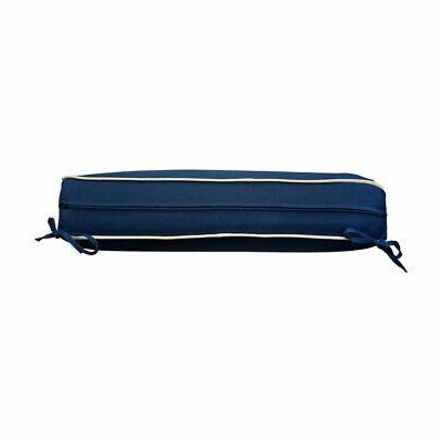 Deep Back Cushion Blue