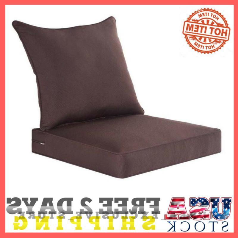 Deep Seat Patio Chair Cushion Home Garden Furniture Outdoor