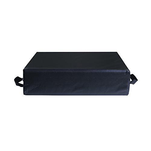 Duro-Med Car Seat Riser Black
