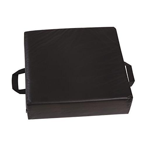 Duro-Med Deluxe Wheelchair Car Riser Cushion, Black
