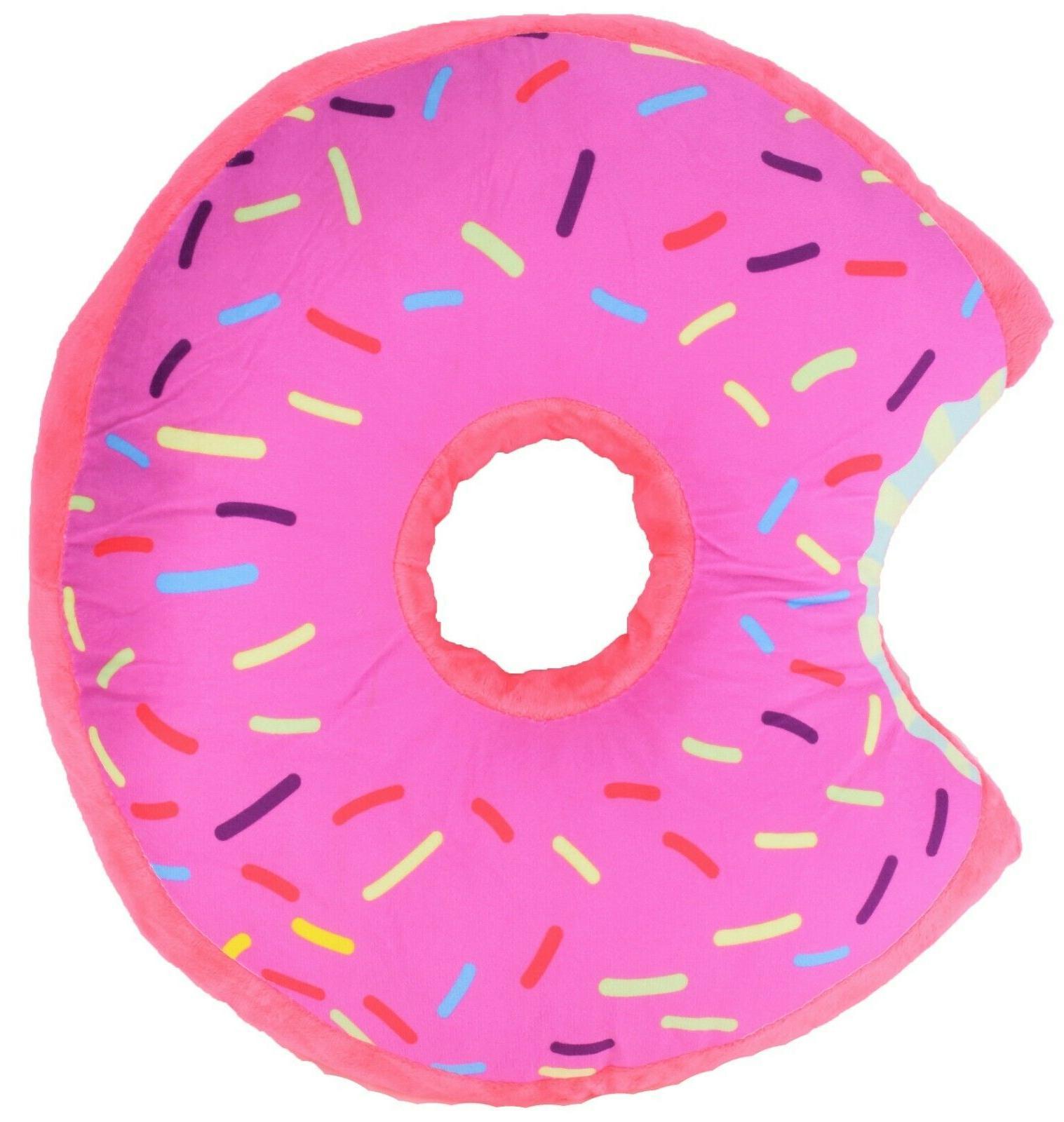 Donut Shaped Plush Sprinkled Toy