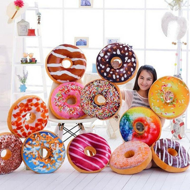 Donut Pillow Fruit Home Decor Covers