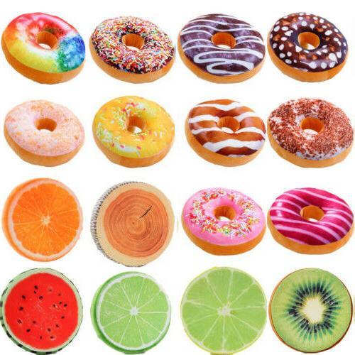 Donut Pillow Fruit Decor Covers