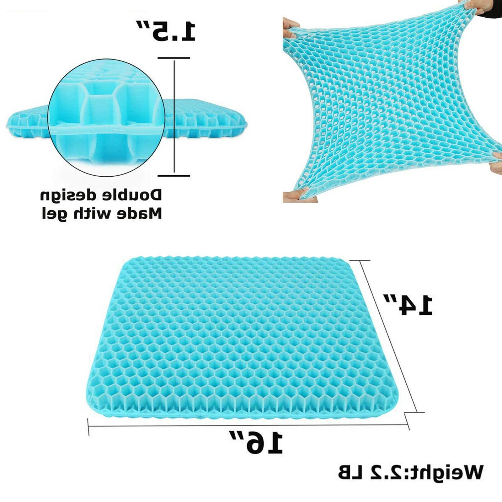 Double Seat Cushion Sitter Pillow,Non-Slip