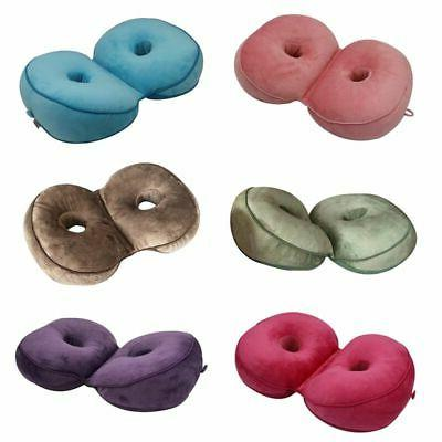 Memory Foam Foldable Dual Comfort Cushion Lift Hip Up Seat O