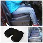 Durable Gray Memory Foam Car Seat Cushion for Back Pain Scia