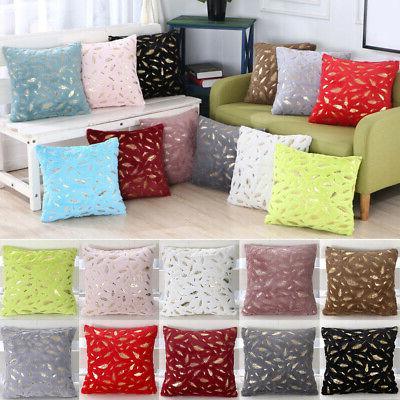 Durable Sofa Seat Pillow Cover Fur Cushion