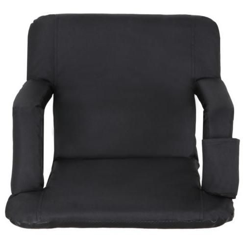 Portable Seat Chair Reclining Cushion Armrest