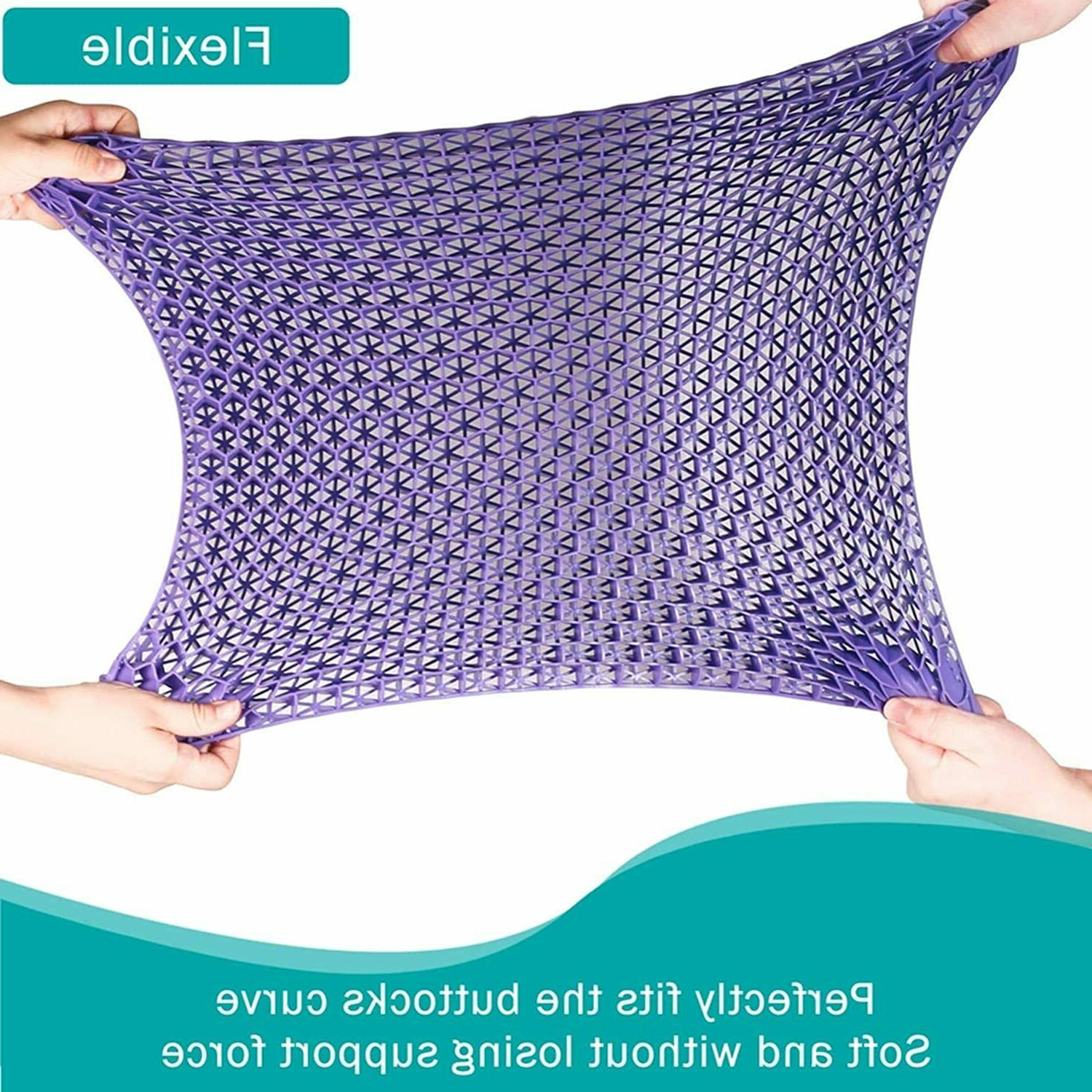 Egg Gel Cushion, Double Thick Chair with Non-Slip Cover fo