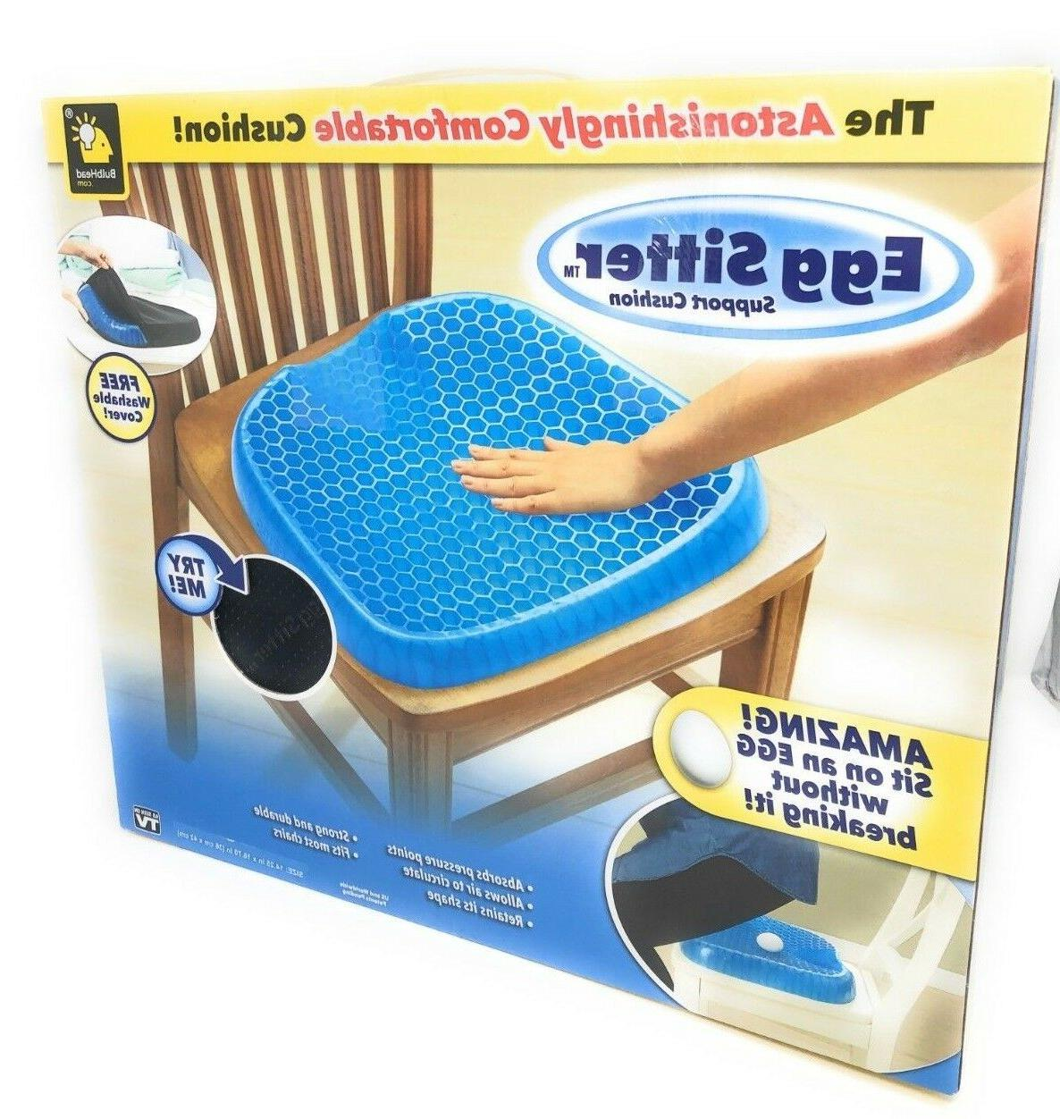 egg sitter seat cushion with non slip