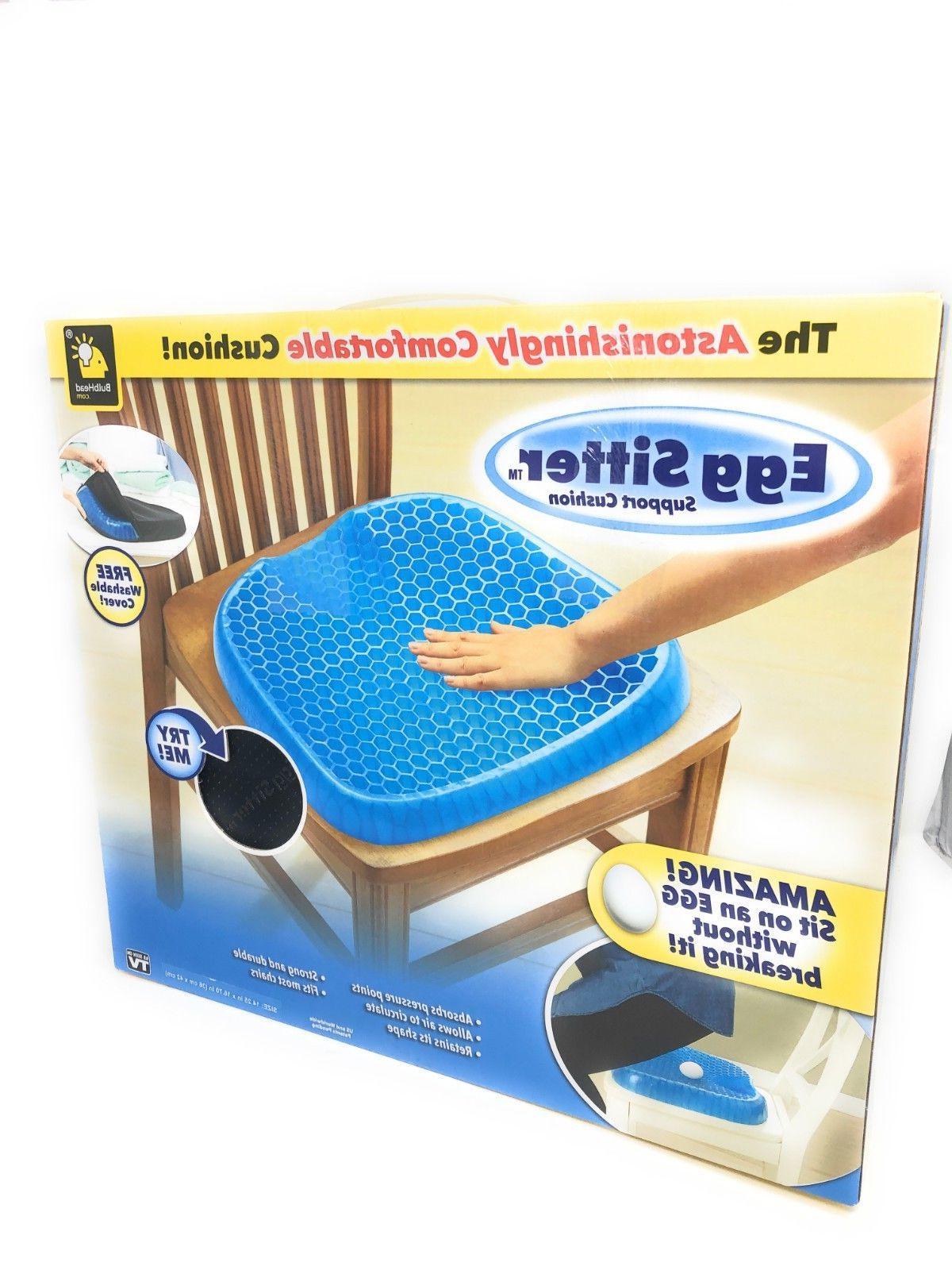 BulbHead Cushion with Breathable Honeycomb