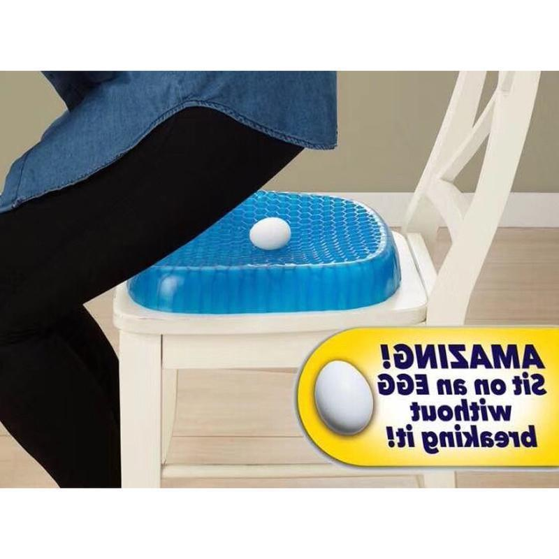 Egg Sitting Gel Cushion Sitter Support Sit On An Egg Flex Back