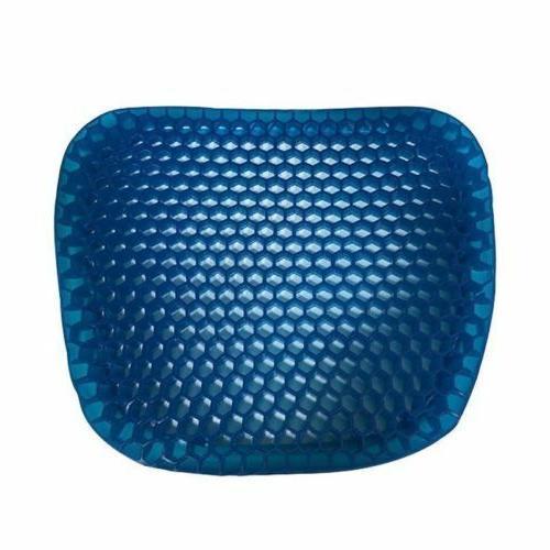 Egg Gel Cushion Seat Support Flex Pillow Back