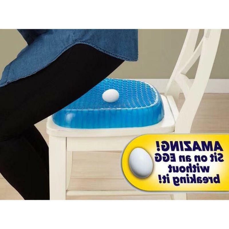 Egg Sitting Gel Cushion Sitter Support Sit On An Egg Flex Back