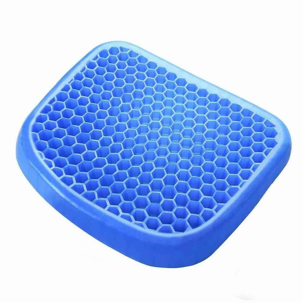 Egg Sitting Gel Cushion Seat Breathable Car Self Cooling US