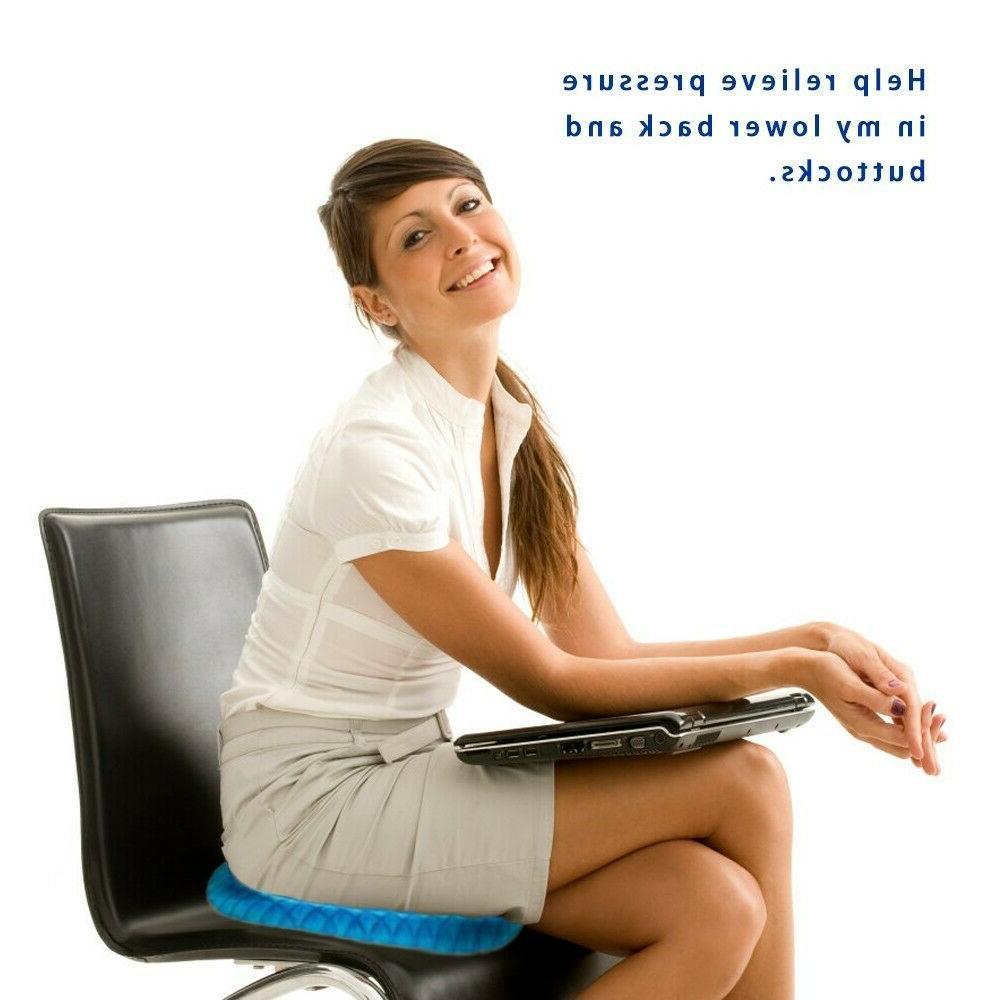 Egg Sitting Cushion Honeycomb Seat Pillow Pad Gel flex Cushion