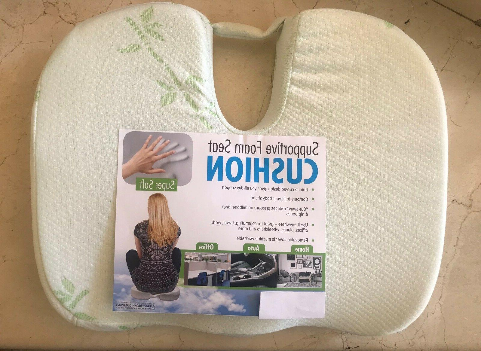 extra thick coccyx orthopedic memory foam seat