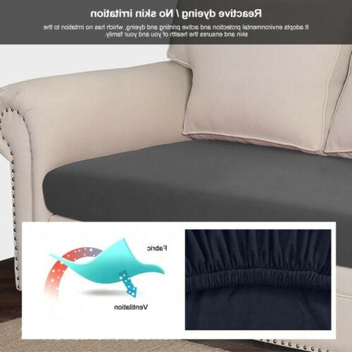 Seats Stretchy Seat Cushion Slipcovers Protector