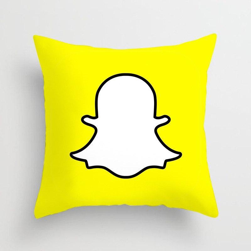 Fashion <font><b>Square</b></font> Pillowcase Printed Ins LOGO Pillow <font><b>Seat</b></font> <font><b>Cushion</b></font>