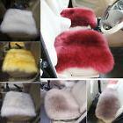 faux sheepskin soft long wool car seat
