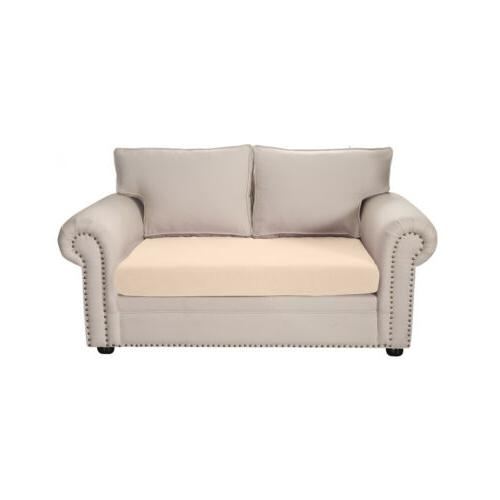1/2/3 Seat Solid Slipcover Elastic Cover Home Couch