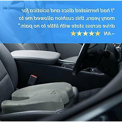 Gel Seat Non-Slip Orthopedic &amp Memory