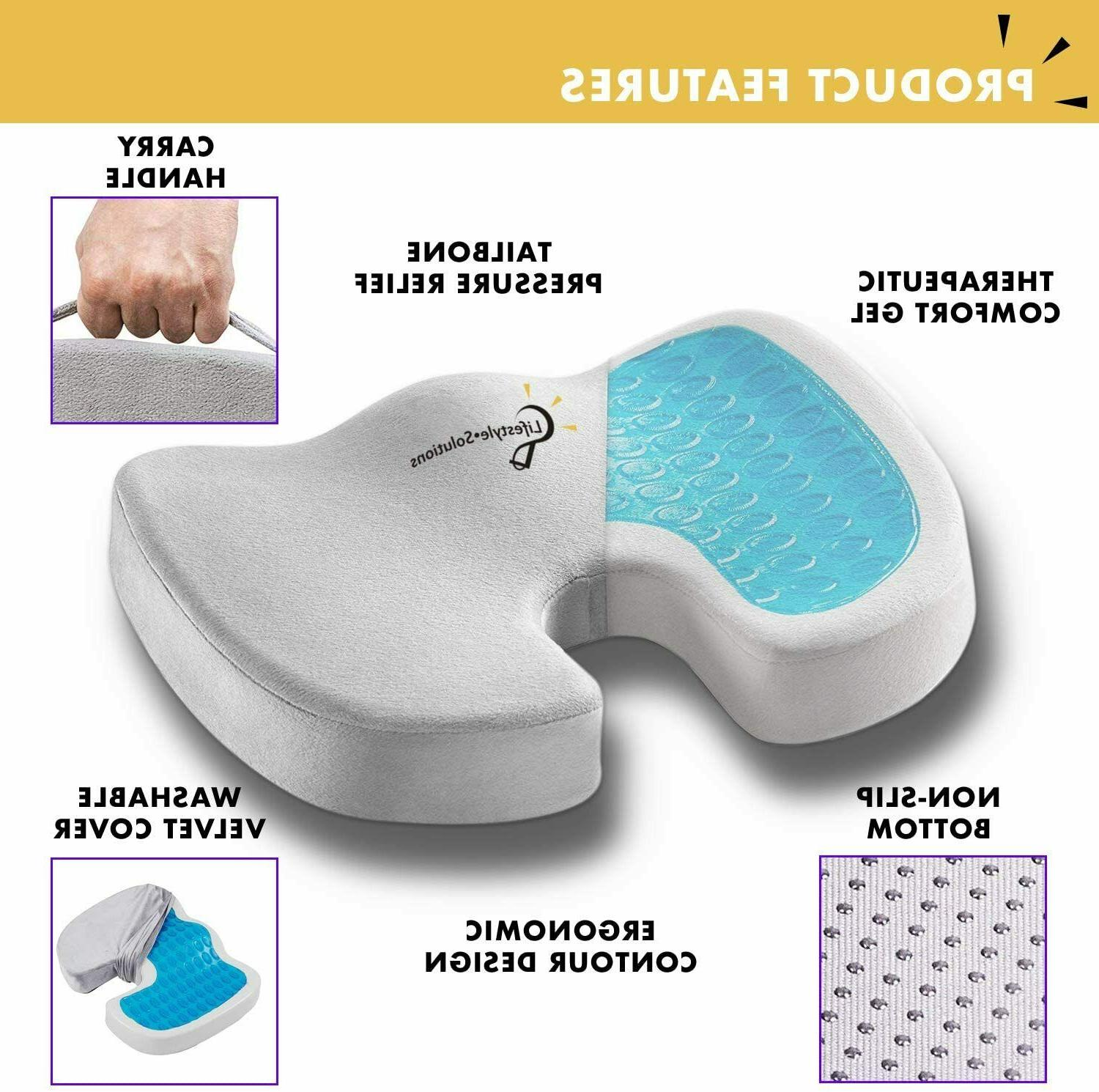 Cooling Seat Memory Coccyx & Chair Orthopedic